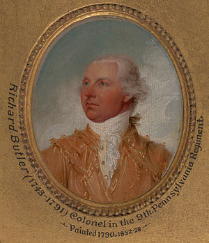 Richard Butler (general) - Image: Richard butler