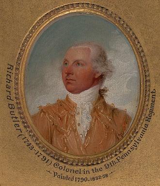 Richard Butler (general) - Image: Richard butler
