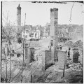 Richmond, Va. Chimneys standing in the burned district LOC cwpb.02675.tif
