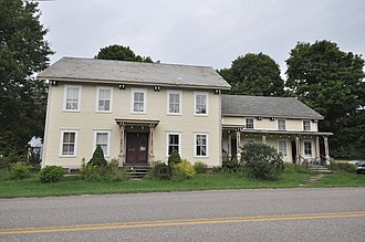 National Register of Historic Places listings in Chittenden County, Vermont - Image: Richmond VT Martin M Bates Farmstead