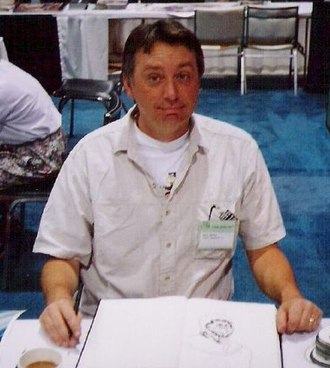 Rick Veitch - Veitch photographed at the 1992 San Diego Comic Con.