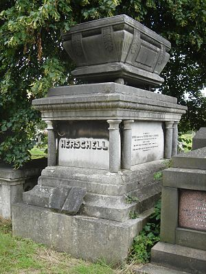 Ridley Haim Herschell - Funerary monument, Kensal Green Cemetery, London