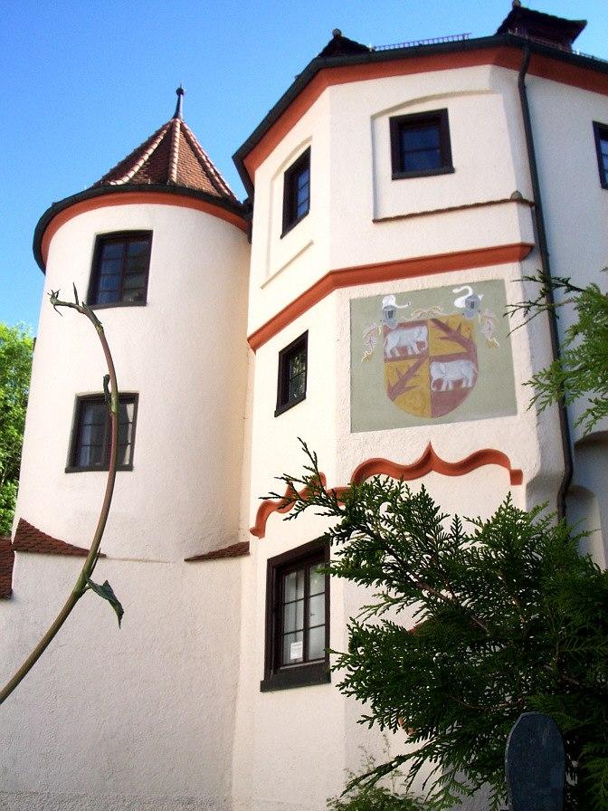 Riedlingen Neufra Schloss Wappen 2005