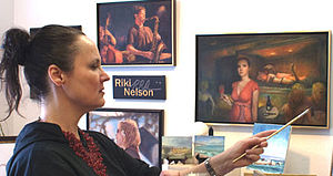 Photograph of Visual Arist Riki R Nelson - Con...