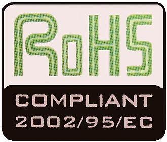 Restriction of Hazardous Substances Directive - A RoHS mark