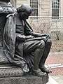 Robbins Memorial Flagstaff in Arlington Massachusetts by Cyrus Dallin.jpg