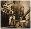 Robert Howlett - Isambard Kingdom Brunel by the launching chains of the SS Great Eastern 1857.jpg