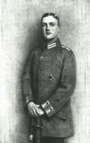 Georg, Crown Prince of Saxony - Crown Prince Georg in 1916, by Robert Sterl