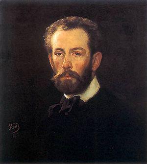 Henryk Rodakowski - Self-portrait, 1853