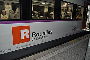 Rodalies de Catalunya - Image: Rodalies CAT 2010 06 09 21 46 36