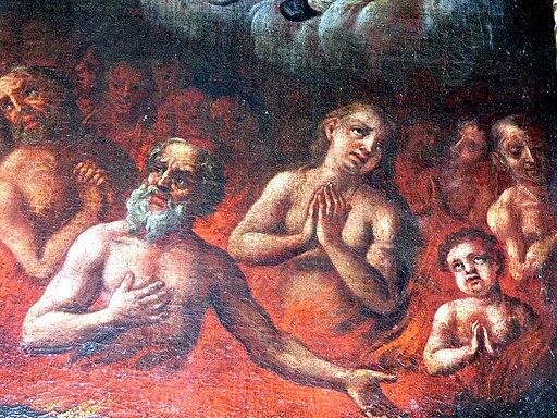 Rohrbach Altar Allerseelen 2 Altarbild Arme Seelen