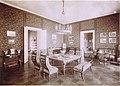 Románia, Nagyszentpéter, gróf Szapáry Pál kastélyának nagyszalonja. A felvétel 1895-1899 között készült. - Fortepan 83476.jpg