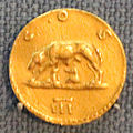 Roma, aureo di adriano, 124-128.JPG