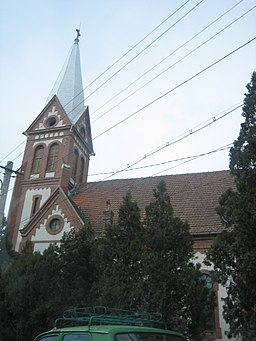 Roman Catholic church in Marosludas.jpg