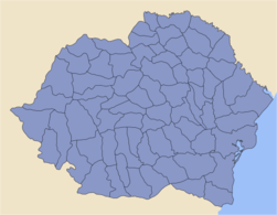 Romania 1930, Administrative Map1.png