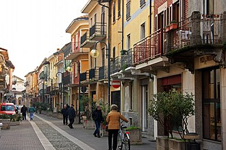 Romentino - Image: Romentino veduta