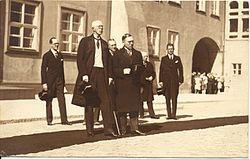 Rootsi kuningas Gustav V Tallinnas 1929.a., AM F 27186.jpg
