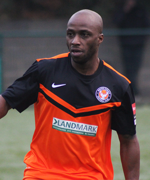 Roscoe Dsane - Dsane playing for Walton Casuals in 2016