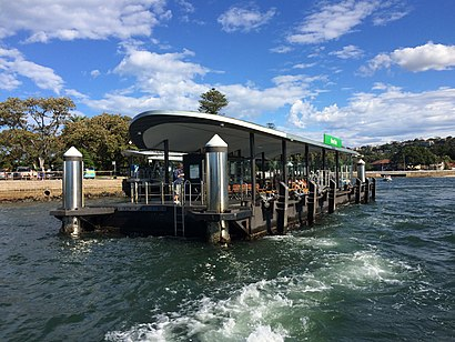 How to get to Rose Bay Ferry Wharf with public transport- About the place