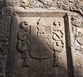 Ross Friary Nave Memorial Plaque dedicated to Perigren Tasburgh by Elis Lynch 2010 09 14.jpg