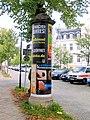 Rostock Litfasssaeule Gerhart-Hauptmann-Strasse 2011-09-10.jpg