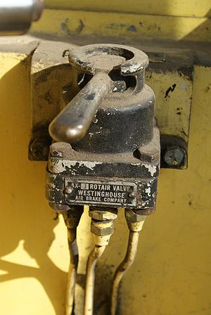 Railway air brake - Image: Rotair Valve Ari Brake SRM