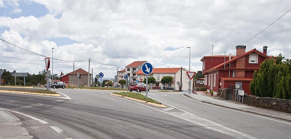 Rotonda do Pino de Val, Chacín, Mazaricos-2