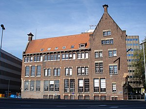 Willem de Kooning Academy - Image: Rotterdam blaak 10