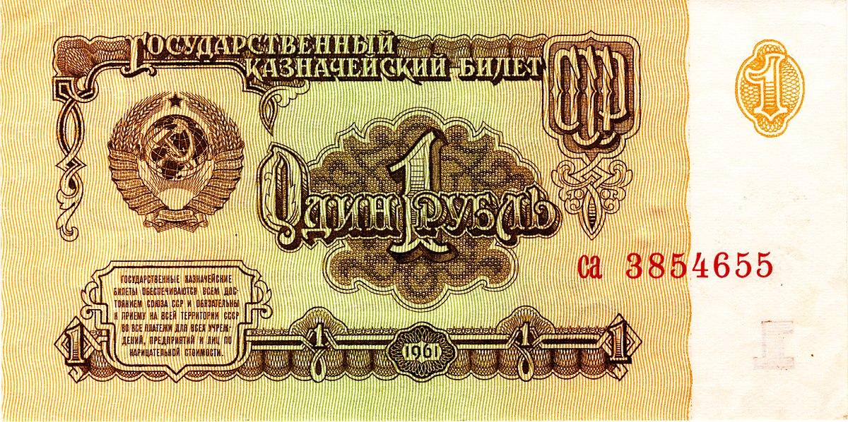 Sowjetischer Rubel Wikipedia