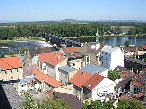 Roudnice nad Labem - Image: Roudnice nad Labem most