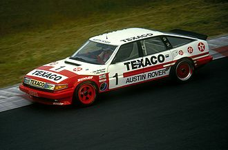 Tom Walkinshaw Racing - The TWR Rover Vitesse of Tom Walkinshaw and Win Percy at the Nürburgring in 1985