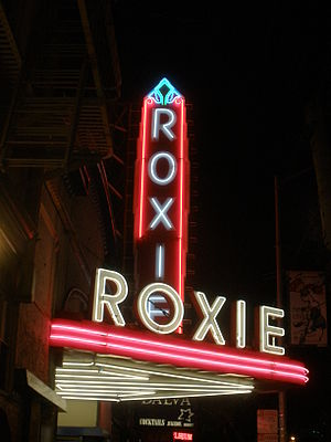 Roxie Theater on 16th Street in San Francisco, CA