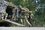 Royal Danish soldiers conduct an infantry training exercise at the 7th Army Joint Multinational Training Command's training area in Grafenwoehr, Germany, July 3, 2014 140703-A-HE359-127.jpg