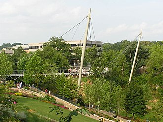 Liberty Bridge at Falls Park on the Reedy - The Liberty Bridge