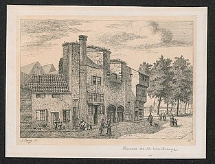 Ruïnen van de Sint-Walburgiskerk te Antwerpen
