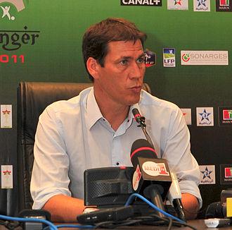 Rudi García - Rudi García with Lille in 2011.