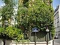 Rue des Liserons - Rue Brillat-Savarin, Cité florale, Paris 13.jpg
