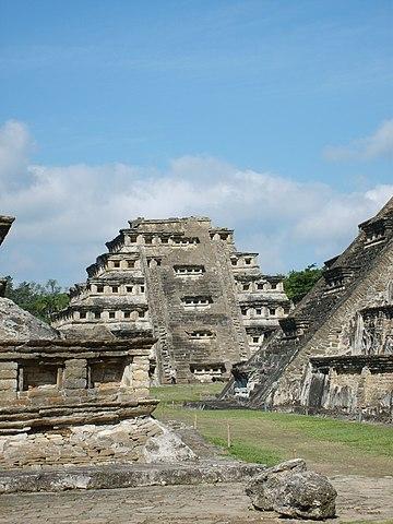 El Tajín, Veracruz, Mexique.