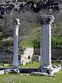 Ruins of a large three-aisled early christian Basilica (Basilica A), end of 5th century AD, Philippi (7272360544).jpg