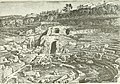 Ruins of the amphitheatre of Fiesole, in History of Rome (1883) (14779925082).jpg