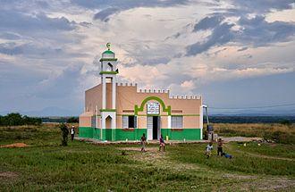 Islam in Uganda - A rural mosque in Uganda