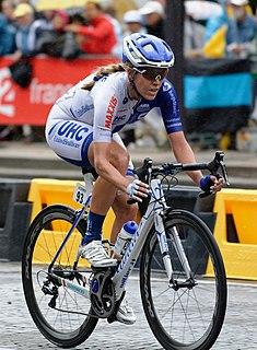 Rushlee Buchanan Olympic cyclist