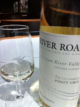 Pinot gris - A Pinot gris from the Russian River Valley of California.
