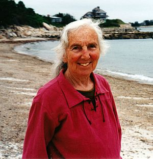 Ruth Hubbard - Wald in Woods Hole, Massachusetts