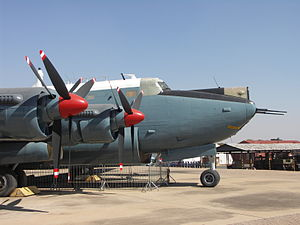 South African Air Force Museum - Image: SAAF Avro Shackleton 002
