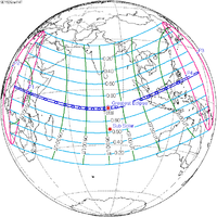 List of solar eclipses visible from the Philippines