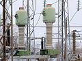 SF6 current transformer TGFM-110 Russia.jpg