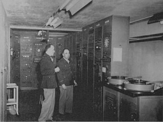 SIGSALY - A SIGSALY terminal in 1943.