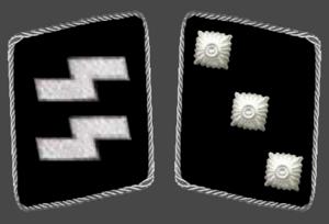 Untersturmführer - Image: SS Untersturmfuehrer collar