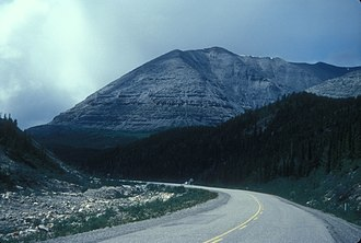 Stone Mountain Provincial Park - The Alaska Highway in the park